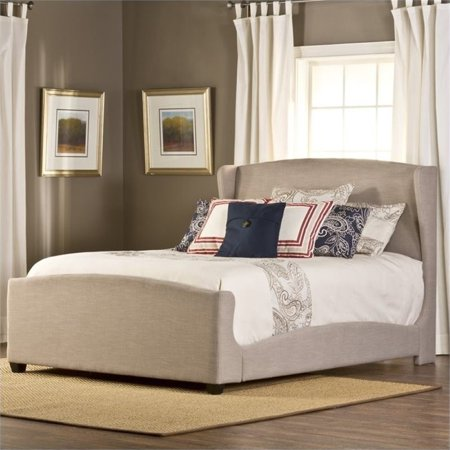 Bowery Hill Upholstered King Panel Bed in