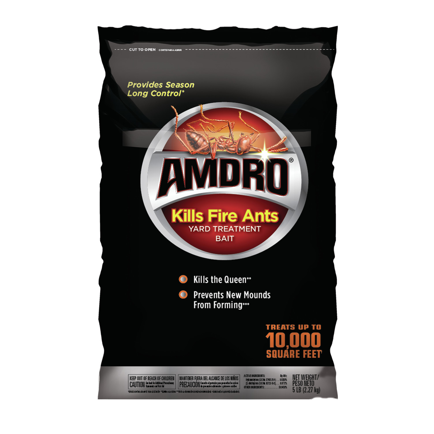 Amdro Kills Fire Ant  Yard Treatment Bait, 5 lbs