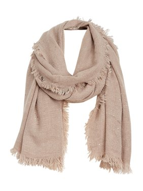 Sequin Oblong Scarf