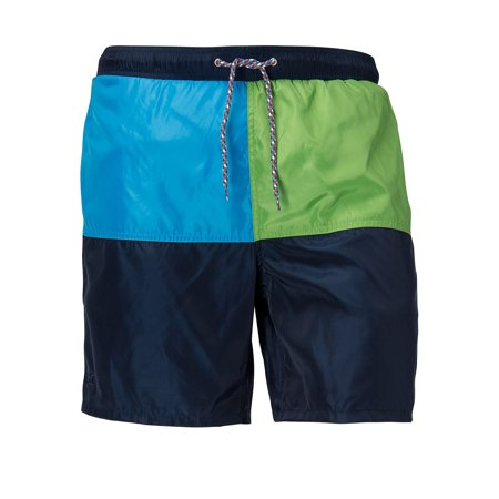 Cutter   Buck Mens Big And Tall Jetty Colorblock Swim Short  Aegean   2Xt