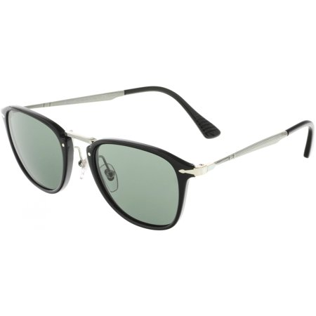 aeb0933183b79 Persol - Persol Men s Polarized PO3165S-95 58-50 Black Rectangle Sunglasses  - Walmart.com
