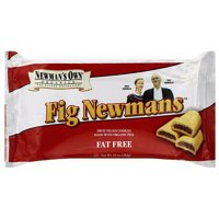 Newman's Own Organics Fig Newmans Fat Free Cookies, 10 oz (Pack of 6)