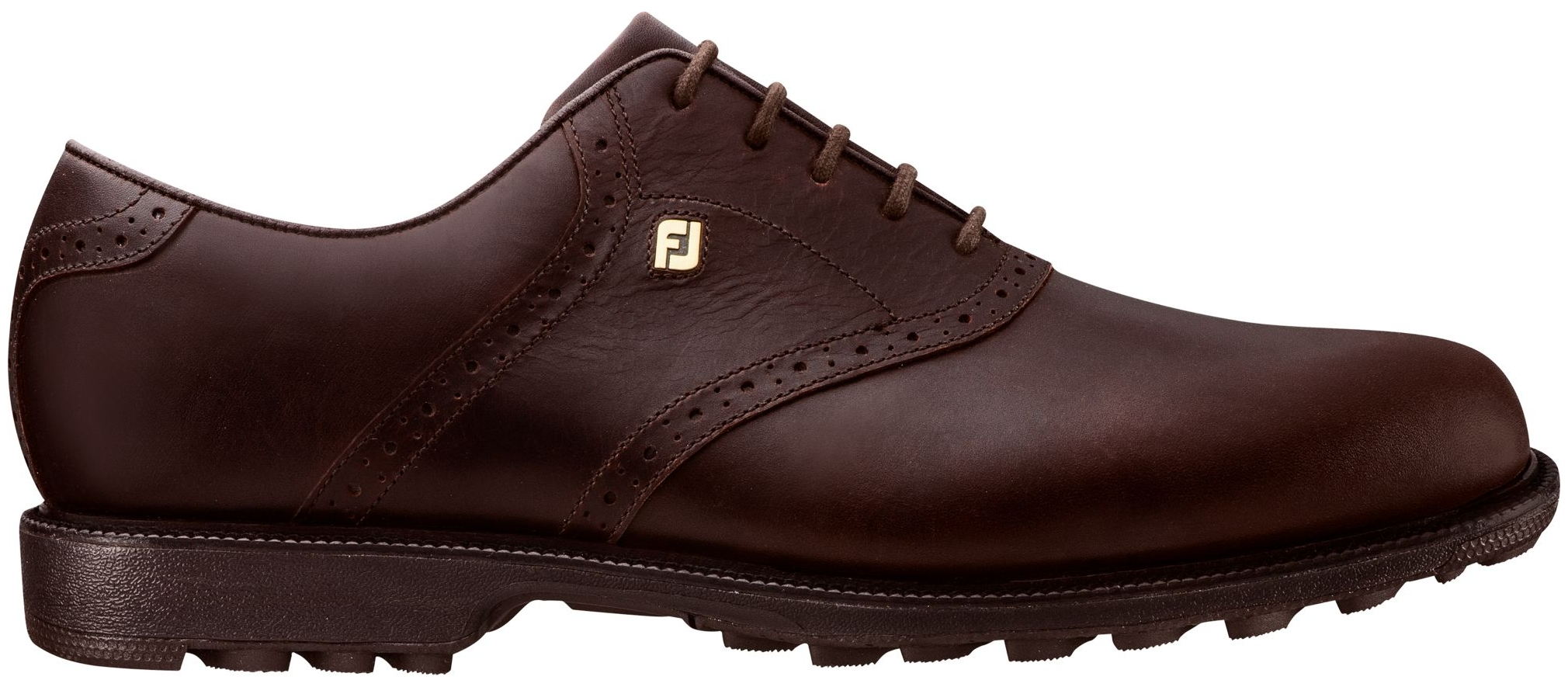 FootJoy Men's Club Professional Saddle Golf Shoes (Chocolate, 13) by FootJoy