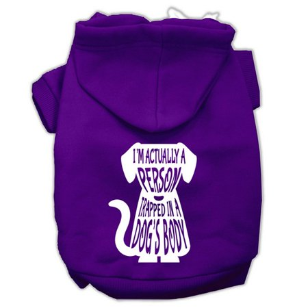 Trapped Screen Print Pet Hoodies Purple Size XXL (18) A poly/cotton sleeved hoodie for cold weather days, double stitched in all the right places for comfort and durability!Product Summary : New Pet Products/Screen Print Hoodies/Trapped Screen Print Pet Hoodies@Pet Apparel/Dog Hoodies/Screen Print Hoodies/Trapped Screen Print Pet Hoodies@Pet Apparel/Dog Hoodies/Screen Print Hoodies COPY/Trapped Screen Print Pet Hoodies