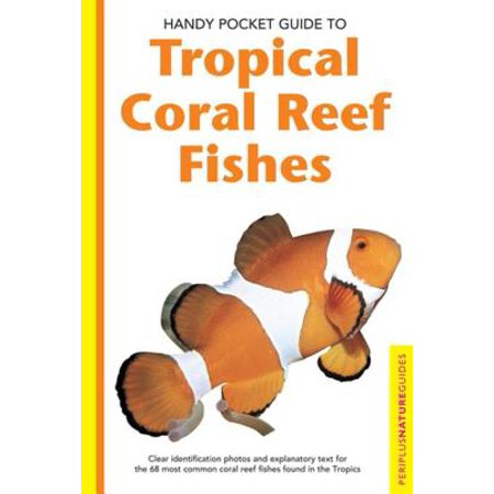 Handy Pocket Guide to Tropical Coral Reef Fishes - (Coral Reef Fish Cut Outs)