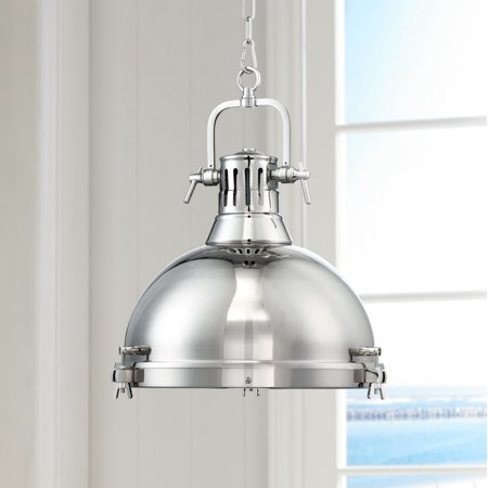 Possini Euro Design Arlo 15 3 4 Wide Chrome Pendant Light