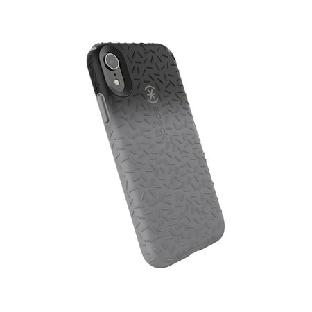 Speck Candyshell Fit Case for iPhone XR, Black Ombre Gunmetal Grey