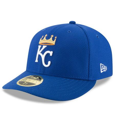 Kansas City Royals New Era Diamond Era 59FIFTY Low Profile Fitted Hat -