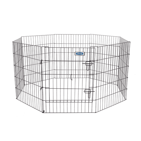 Petmate Looped Wire Exercise Dog Pen With Door, 30