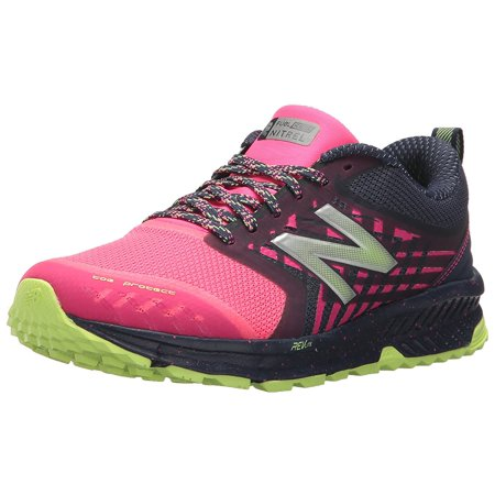 new balance wtntrla1: women's nitrel v1 fuelcore trail grey/pink running shoes (6 b(m) us,