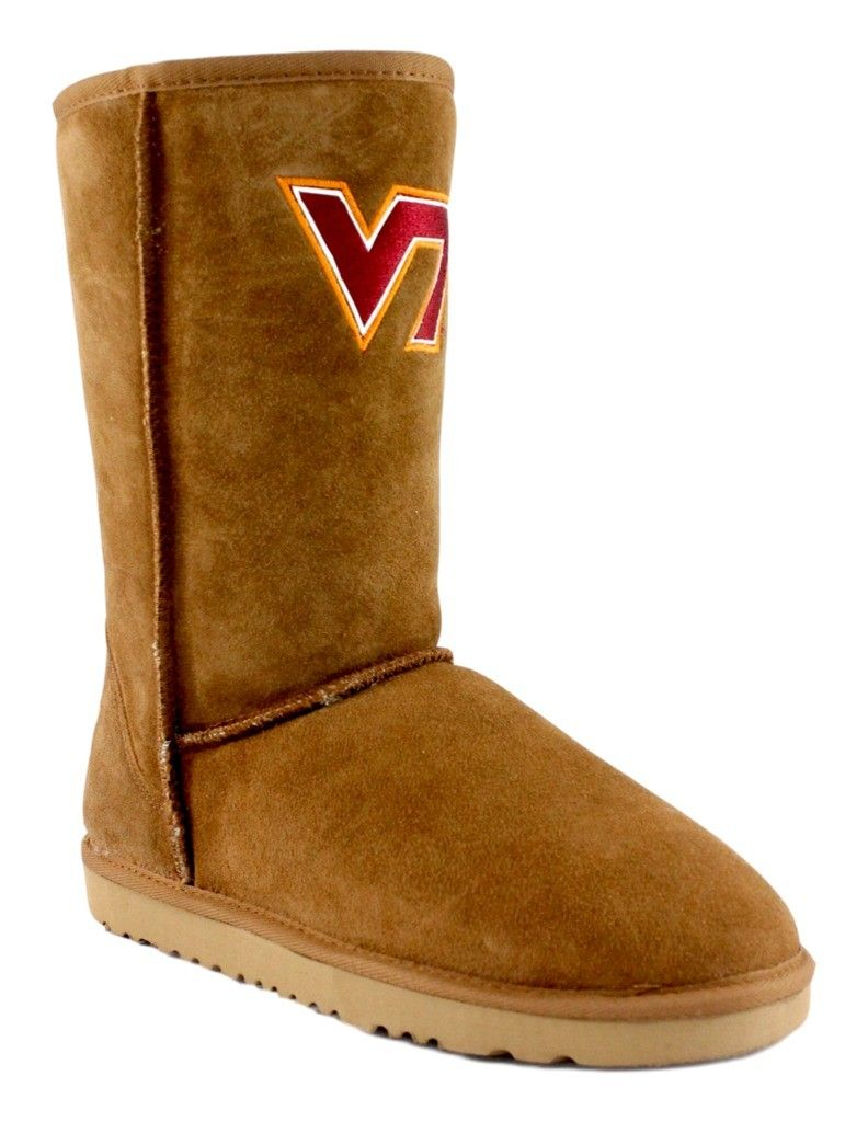 Gameday Boots Womens Virginia Tech Hokies Roadie Hickory VT-RL1022-1 by Gameday Boots