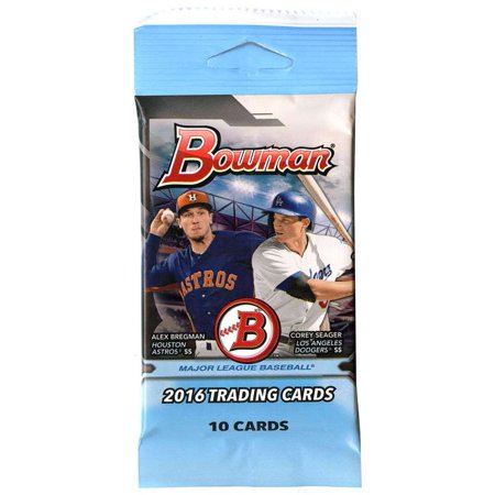 Mlb 2016 Bowman Baseball Cards Trading Card Pack
