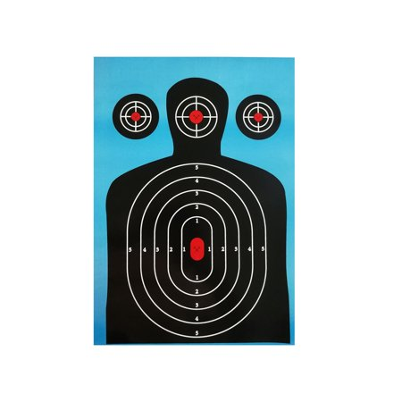 10pack Shooting Targets 12*18 inch Silhouette Poor Splatter Reactive Paper HOT New Upgraded on sale - Target Baby Sale Dates