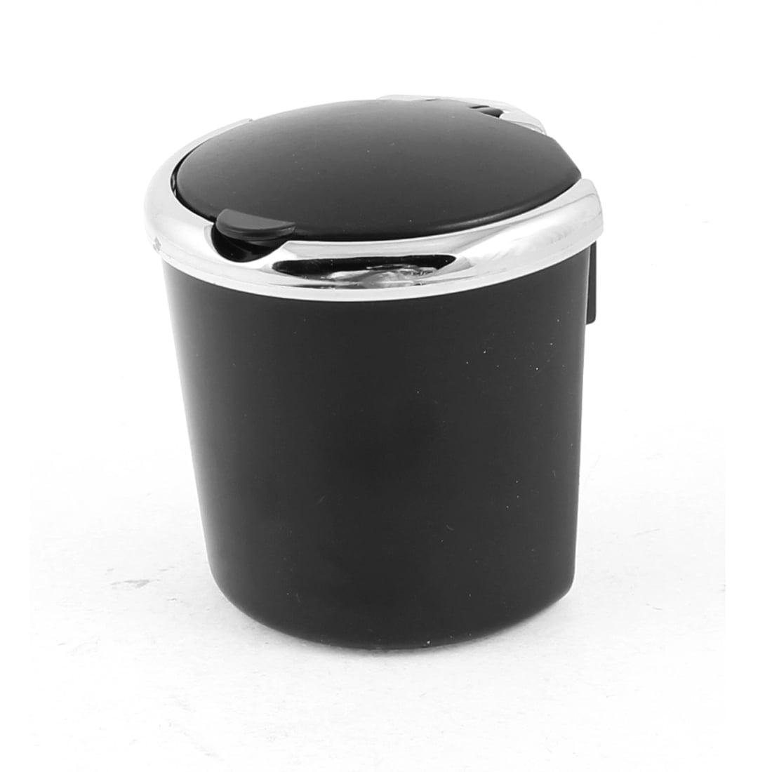 Cendrier Coque Plastique Noir & Argent pour Voiture - image 1 de 1