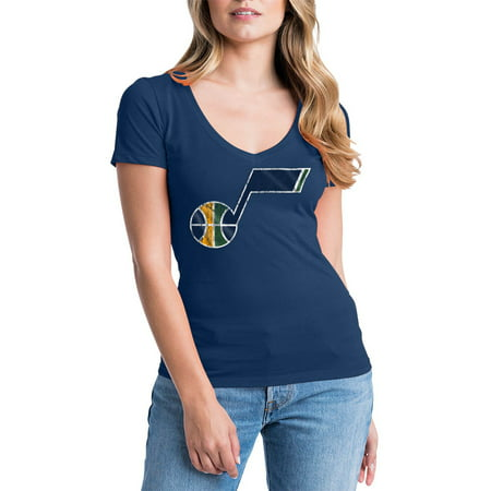 Utah Jazz Womens NBA Short Sleeve Baby Jersey V-neck ()