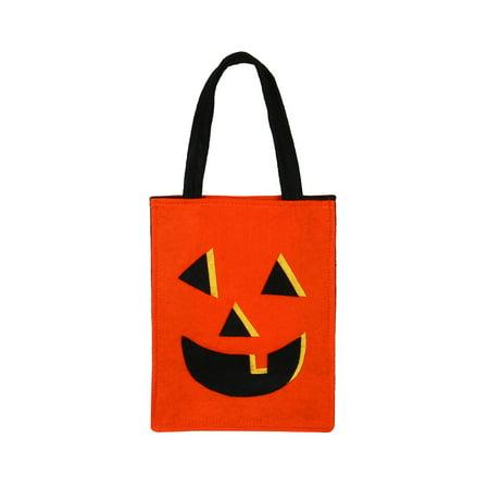 Halloween Candy Bats (Halloween Bat Bag Devil Bag Kids Candy Handbag Bucket)