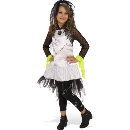 Monster Bride Of Frankenstein Girl Child Halloween Costume - Frankenstein Halloween Costume Baby
