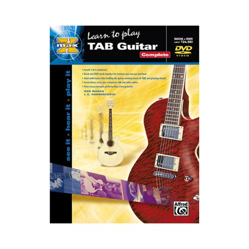 Alfred MAX TAB Guitar Complete (Book and DVD)
