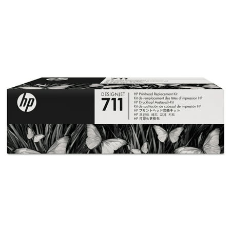 HP 711, (C1Q10A) Black/Cyan/Magenta/Yellow Printhead Replacement -