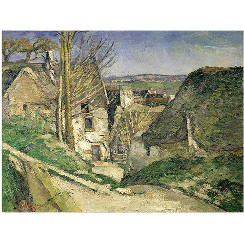 "Trademark Fine Art ""The House of the Hanged Man"" Canvas Art by Paul Cezanne"