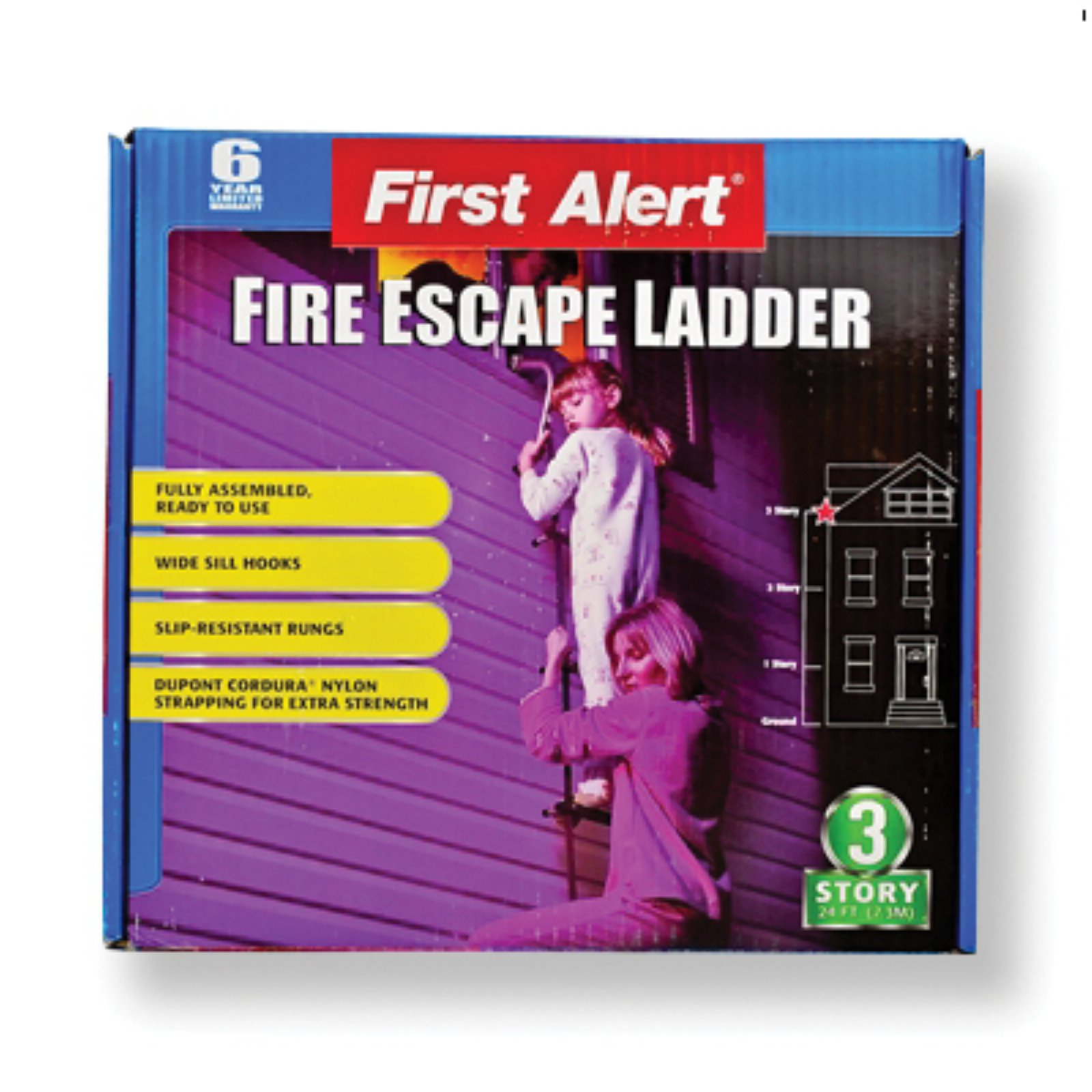 First Alert 25 ft. Fire Escape Ladder by Mayday