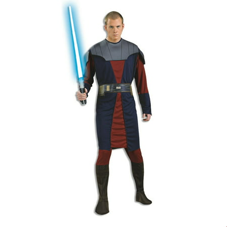 Star Wars Mens Anakin Skywalker Halloween Costume - Anakin Skywalker Kids Costume