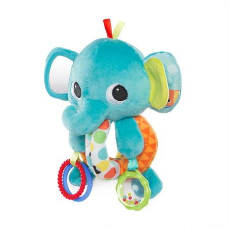 Bright Starts Explore & Cuddle Elephant