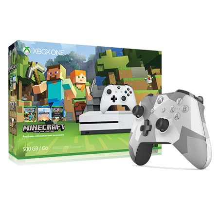 xbox one s special edition minecraft