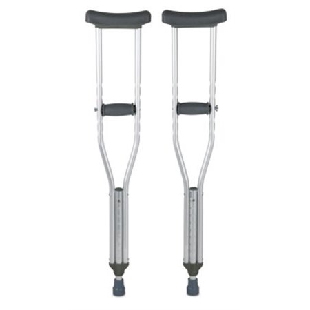 Underarm Youth Crutch, Youth Crutches, 350 lb. Capacity, Adjustable User Height 4'6