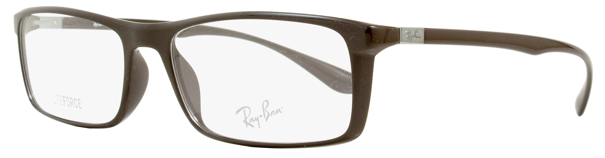 9c7bf6628e ... 7035 5434 57 17 145 brown 1698 b09ed 1ecbe  norway ray ban rectangular  eyeglasses rx7035 5434 size 57mm shiny brown 7035 07aca d88de
