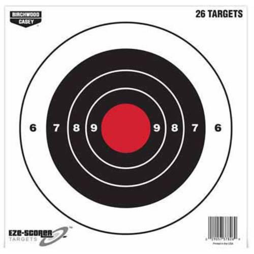 """Eze-Scorer™ 8"""" Bull's-eye Paper Target - 26 targets"""