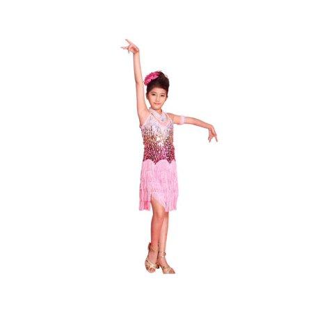 6a003418148a weefy - Baby Girls Latin Dance Dress Tango Sequin Dance Children Fairy  Dresses Costume - Walmart.com