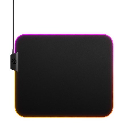 - SteelSeries QcK Prism Mouse Pad Medium Gaming Surface Cloth 63825