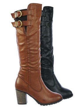 4646e681d1d1 Bamboo Womens Boots - Walmart.com