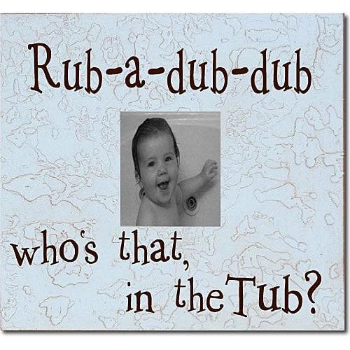 Forest Creations Rub-A-Dub-Dub... Child Frame
