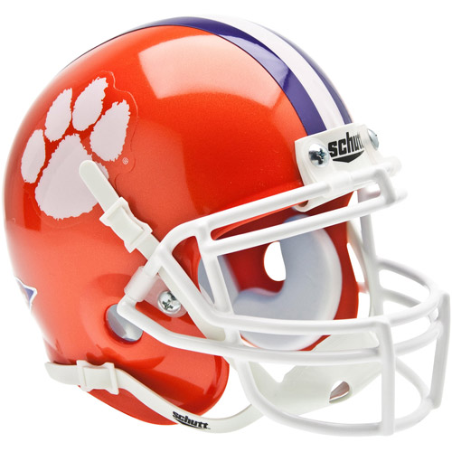 Shutt Sports NCAA Mini Helmet, Clemson Tigers