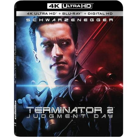 New Terminator - Terminator 2: Judgment Day (4K Ultra HD + Blu-ray + Digital HD)