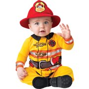 baby firefighter fireman lil hero fire dept infant halloween costume - Fireman Halloween
