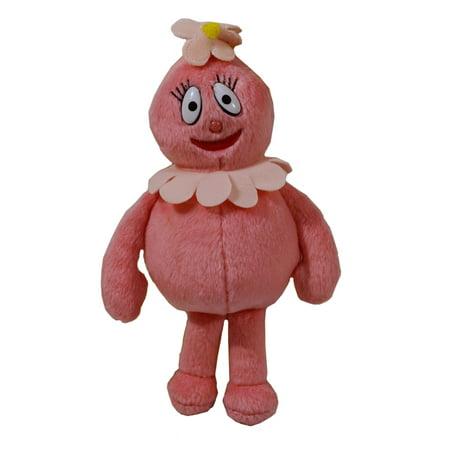 Yo Gabba Gabba 7.5 Inch Plush Foofa Figure Toy - From Spin Master - Foofa Yo Gabba Gabba