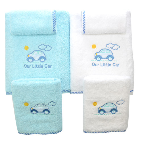 Makroteks Textile L.L.C. Kids 6 Piece Turkish Cotton Towel Set