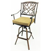 Vandue Corporation Wilshire 29.5'' Patio Bar Stool with Cushion (Set of 4)