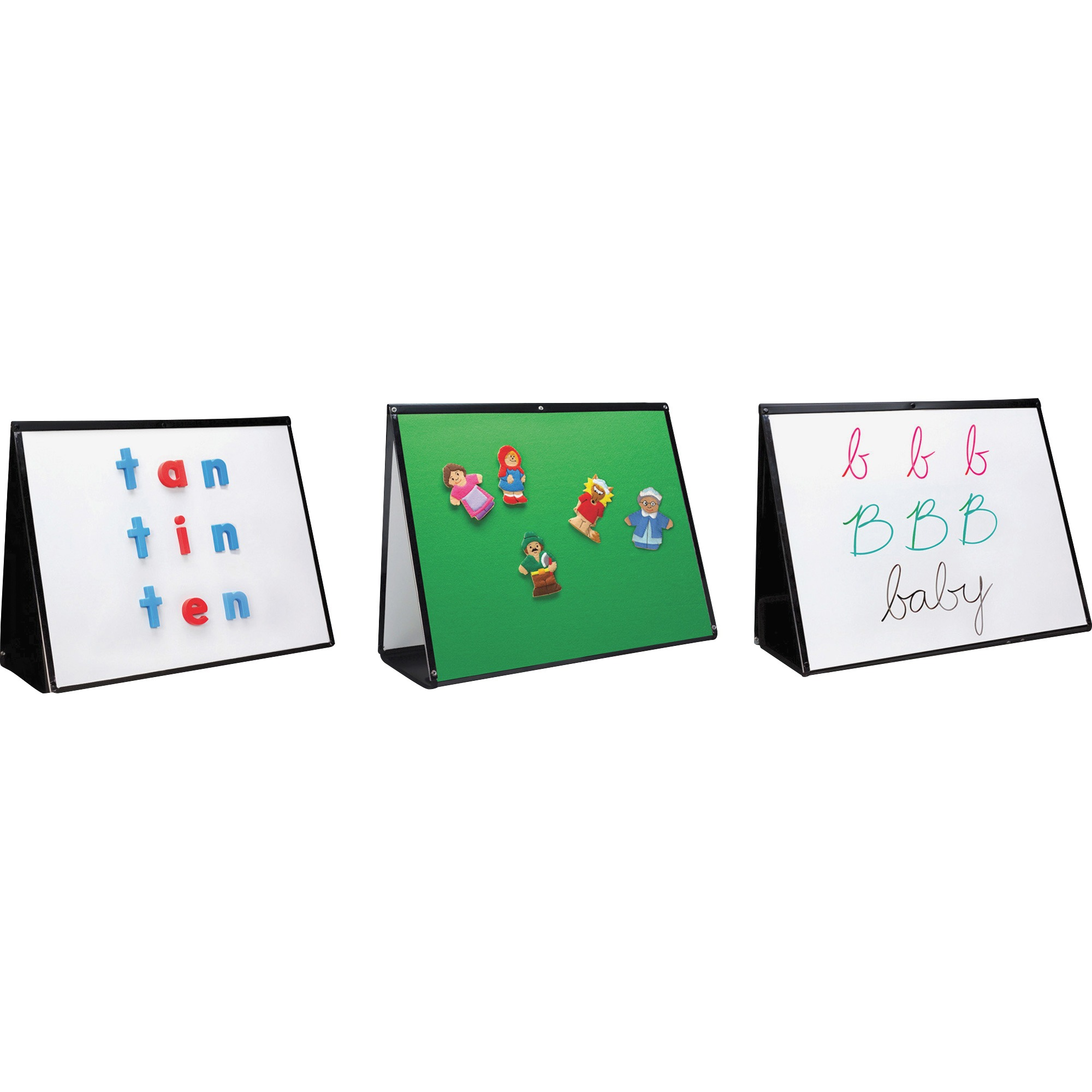 Educational Insights, EII1027, 3-in-1 Portable Easel, 1 Each
