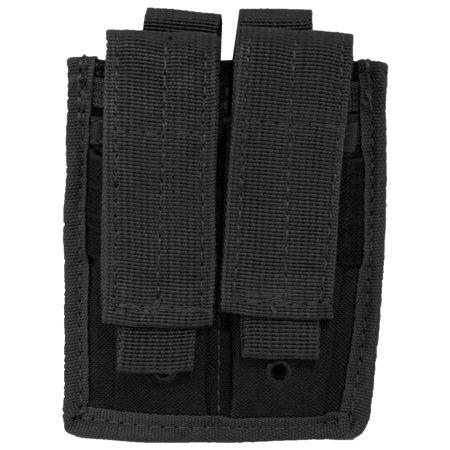 Horizontal Magazine Pouch - Every Day Carry Tactical Velcro & MOLLE Double Pistol Magazine Pouch