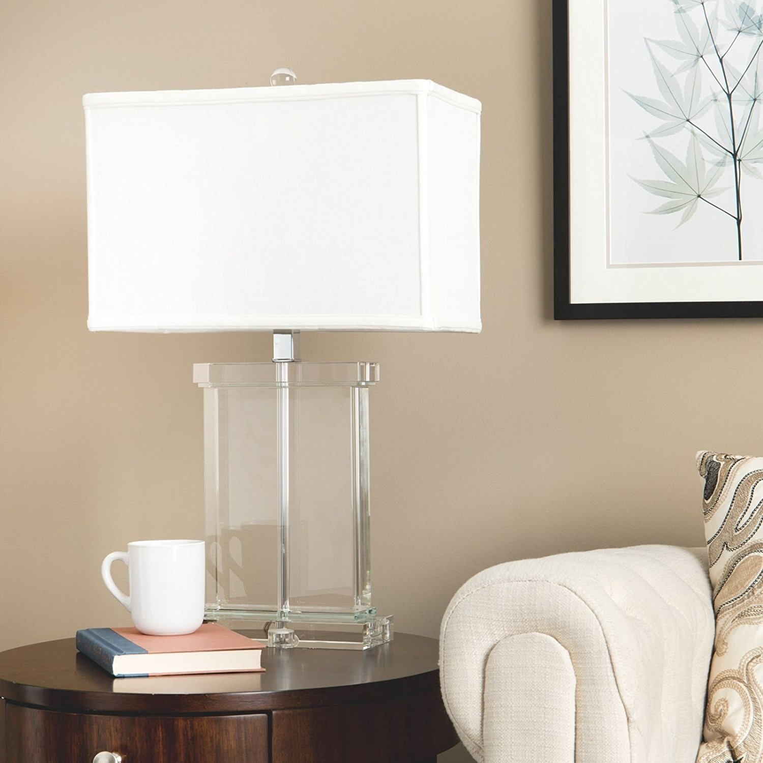Modern Table Lamp Suitable For Sofa, Side, End Tables And ...