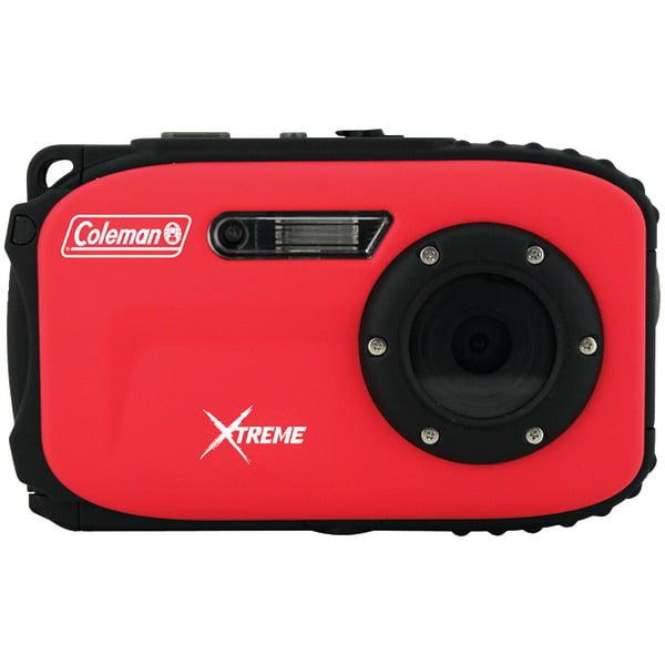 Coleman C5wp-r 12.0 Megapixel Xtreme Underwater Digital Camera (red)