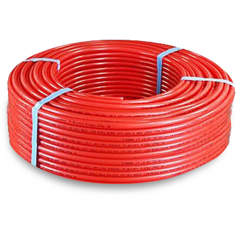 "Pexflow PFR-R34500 Pex Tubing, O2 Oxygen Barrier Red, 3/4"" x 500'"