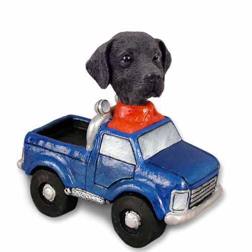 NO.DOOG24A213 Labrador Retriever Black Pickup Doogie Collectable Figurine