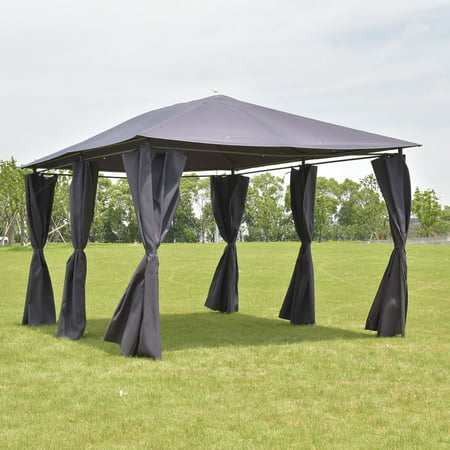 Cosplay Feet (Costway Outdoor 10'x13' Gazebo Canopy Tent Shelter Awning Steel Frame W/Walls)