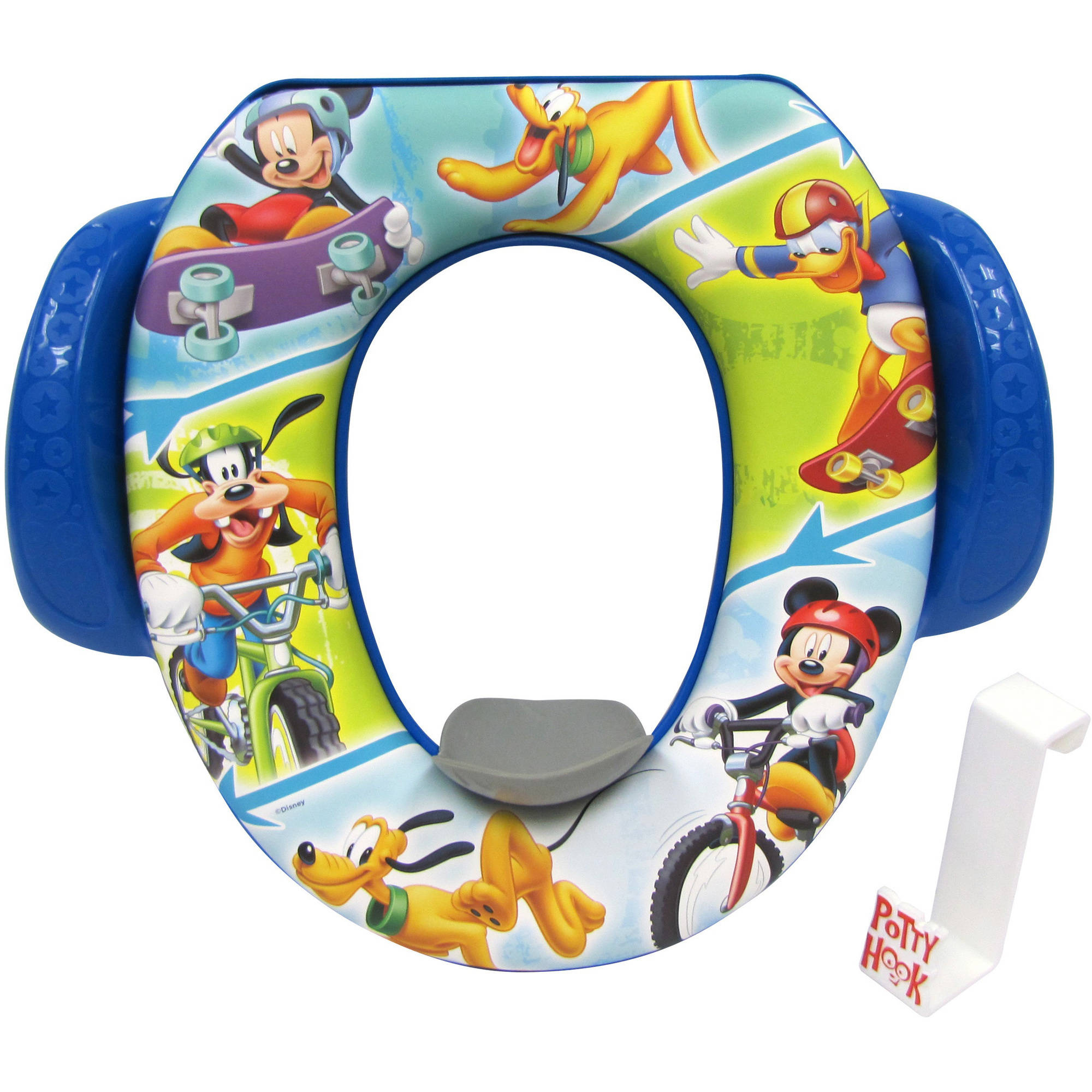 Mickey Let's Ride Soft Potty Seat