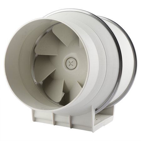 Hilitand Inline Exhaust Fan, Inline Ventilation Fan,High Efficiency Inline Duct Fan Air Extractor Bathroom Kitchen Ventilation System 110V US (Best Kitchen Ventilation Systems)